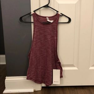 Lululemon Tank Top Burgundy
